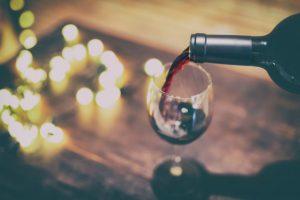 rødvin der nydes