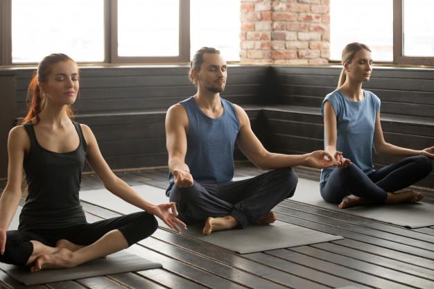 gruppe der dyrker yoga