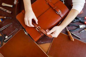 vedligeholdese af læder