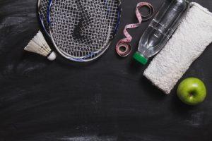 udstyr til badminton